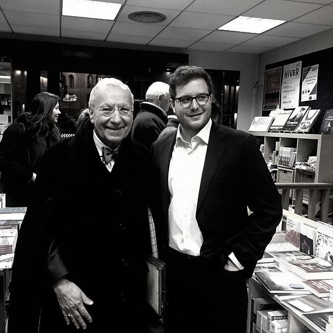 Jérôme Blanchet-Grave et Michel Maffesoli