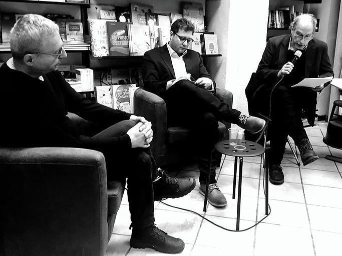 Jérôme Blanchet-Gravel et Christian Rioux