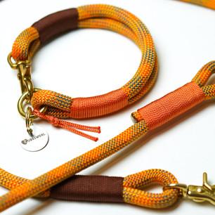 Tauwerk: Pumpkin, Takelung: Standard Braun & Orange