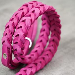 Fettleder Pink