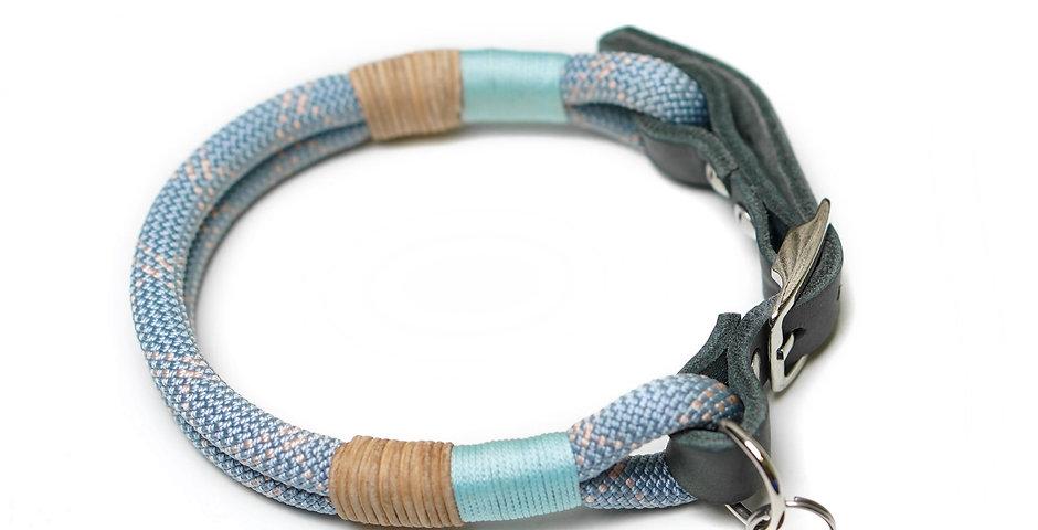 Halsband verstellbar - Pastell Blau
