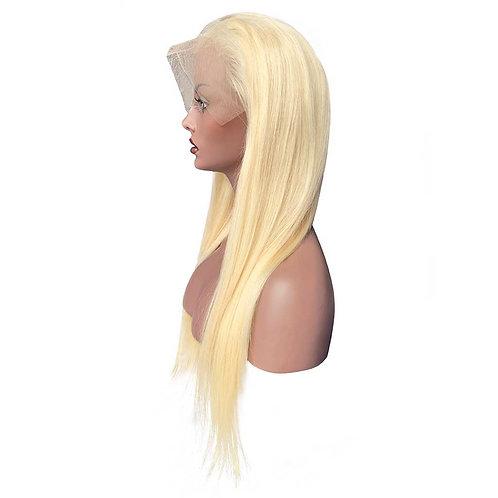 613 Platinum blonde frontal wig