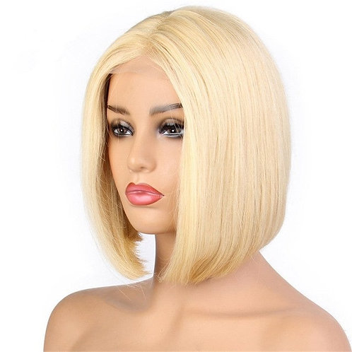 Barbie Blonde 13*6 Bob Wig