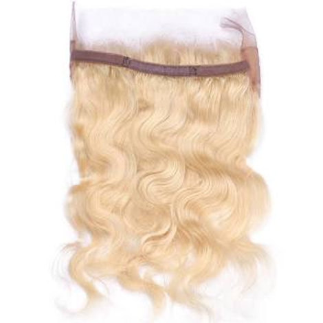 Platinum Blonde 360 Frontal