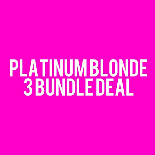 Platinum Blonde 3 Bundle Deal