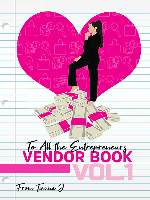 Vendor Book Vol.1