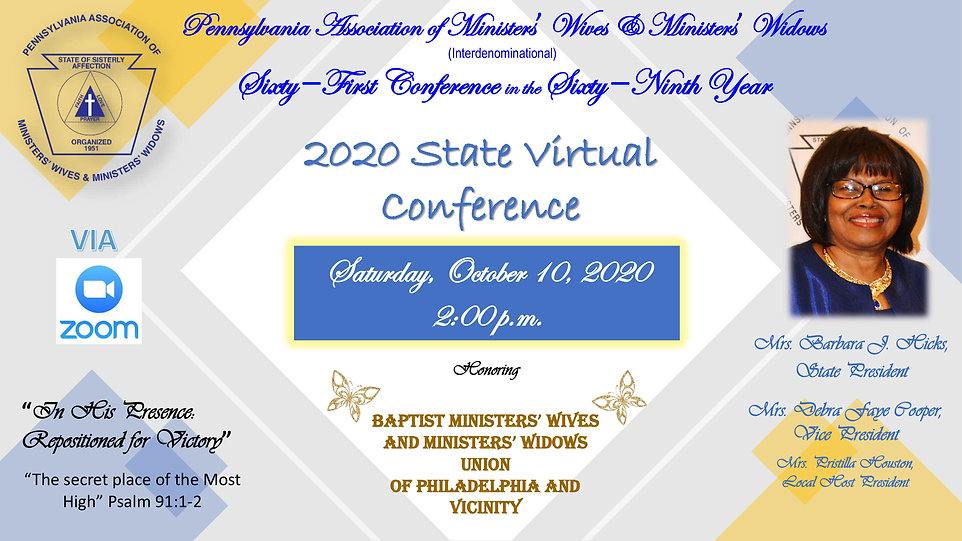 2020 State Virtual Conference updated -