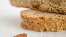 Low-Fat Dairy Free Almond Biscotti