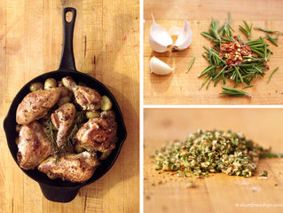 One Pan Rosemary Chicken