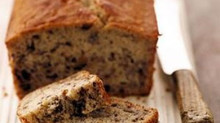 FAT FREE & DAIRY FREE BANANA BREAD