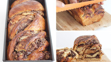 Dairy Free Chocolate & Halvah Babka (Breaded Twist)