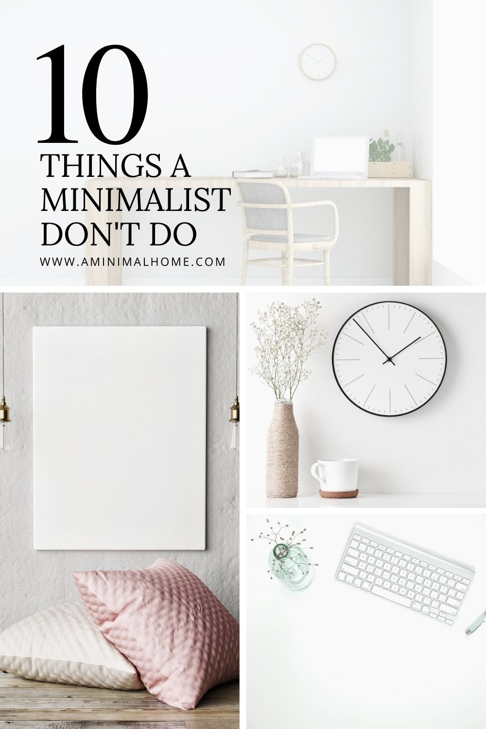 10 things a minimalist dont do