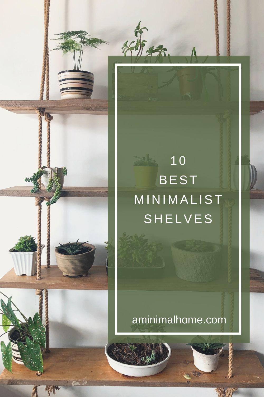 10 best minimalist shelves