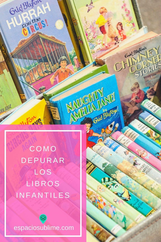 como depurar libros infantiles