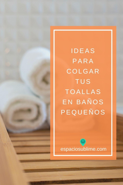 ideas para organizar las toallas