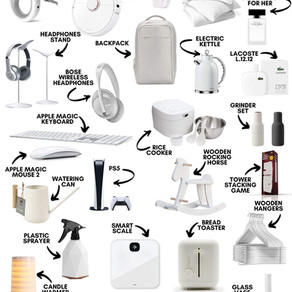 30 amazing minimalist design items (October 2020)