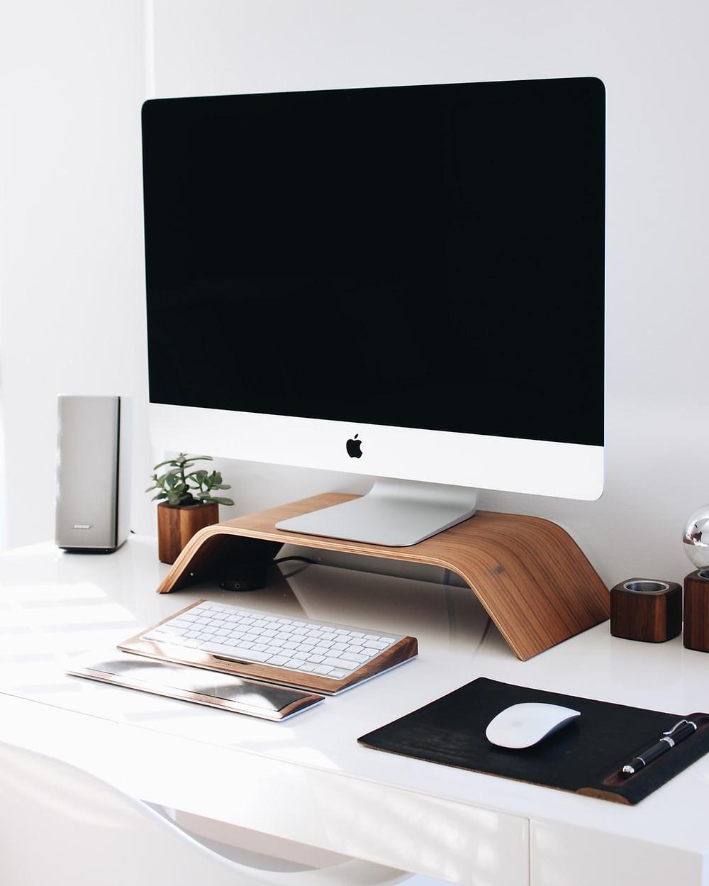 how to organize the desktop