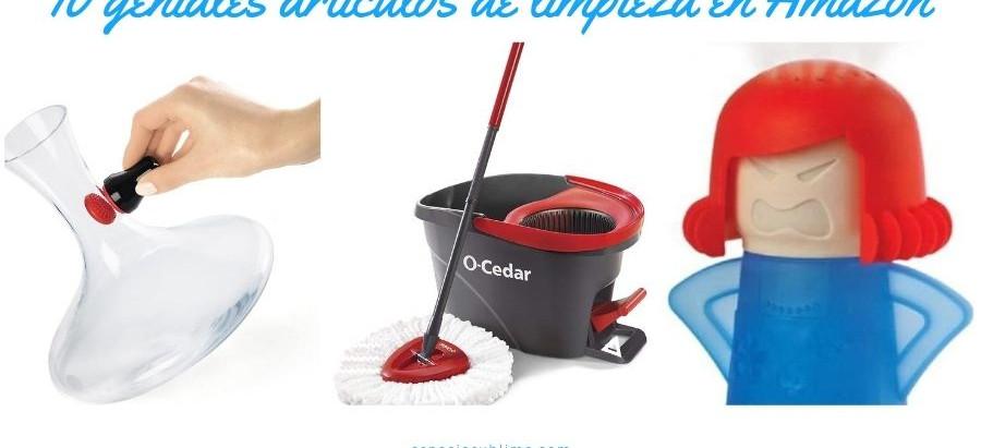 10 Inusuales y geniales artículos de limpieza en Amazon