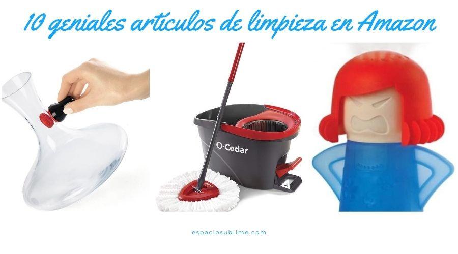 increibles articulos de limpieza en amazon