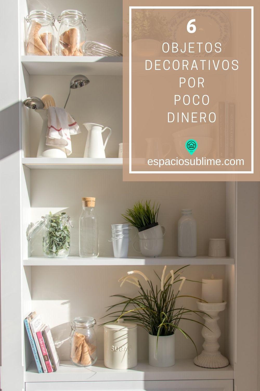 6 objetos decorativos por poco dinero