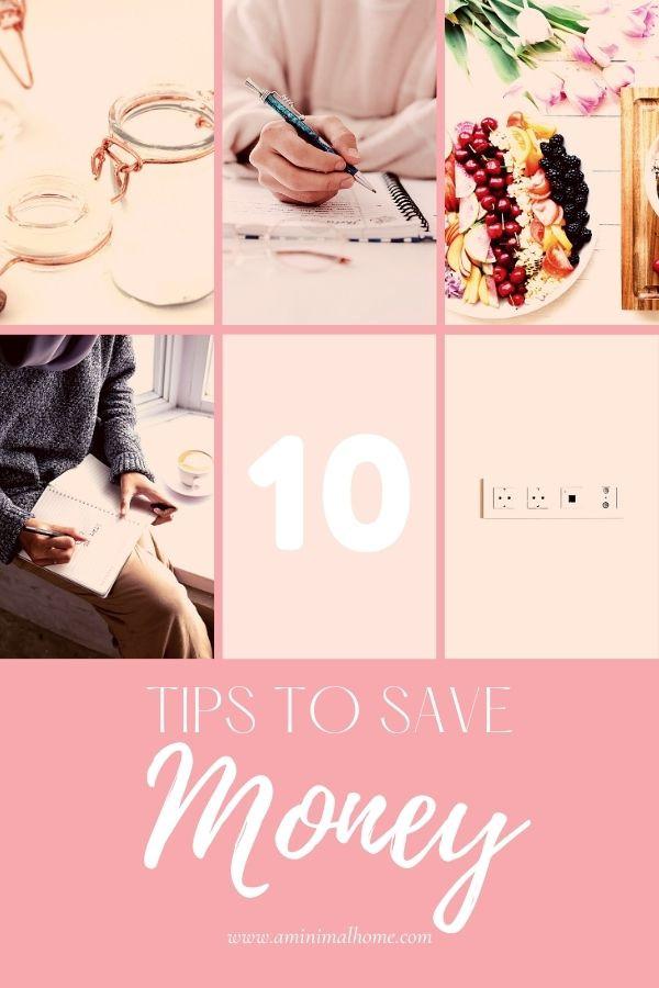 how i save money as a minimalist