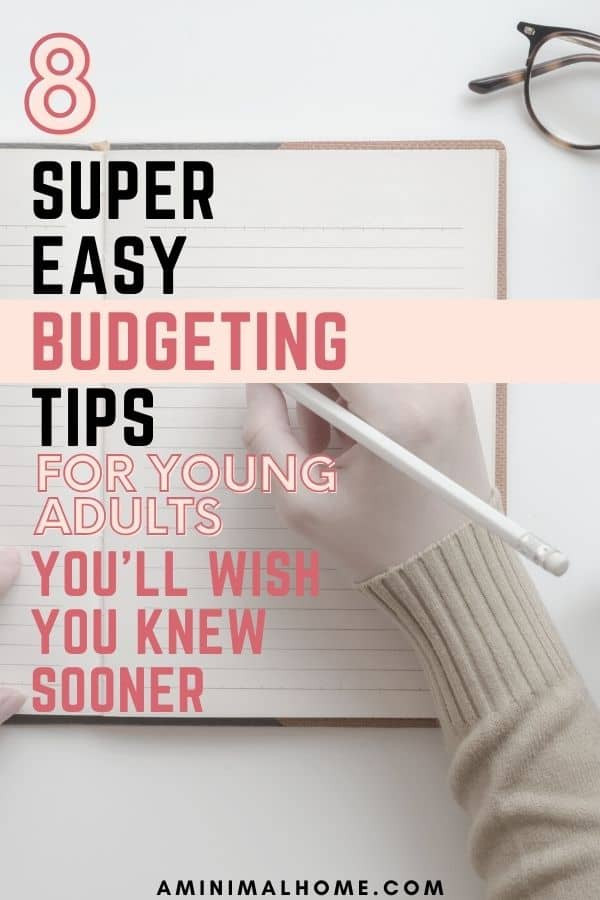 budgeting in your 20s