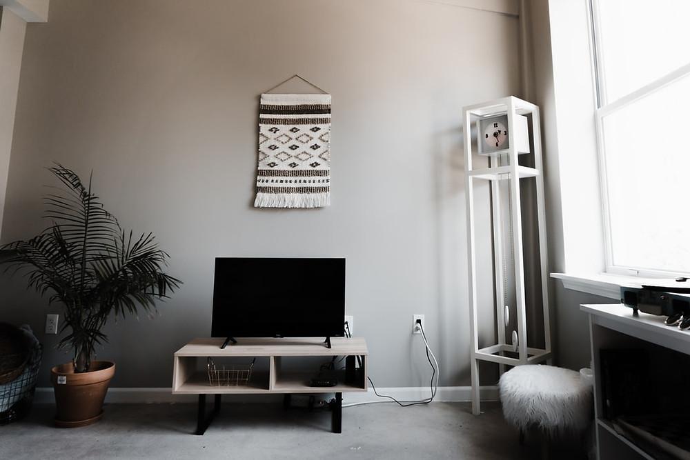 artisan bohemian woven minimalist wall decor