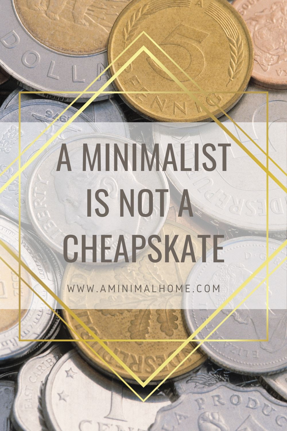 A minimalist is not a cheapskate