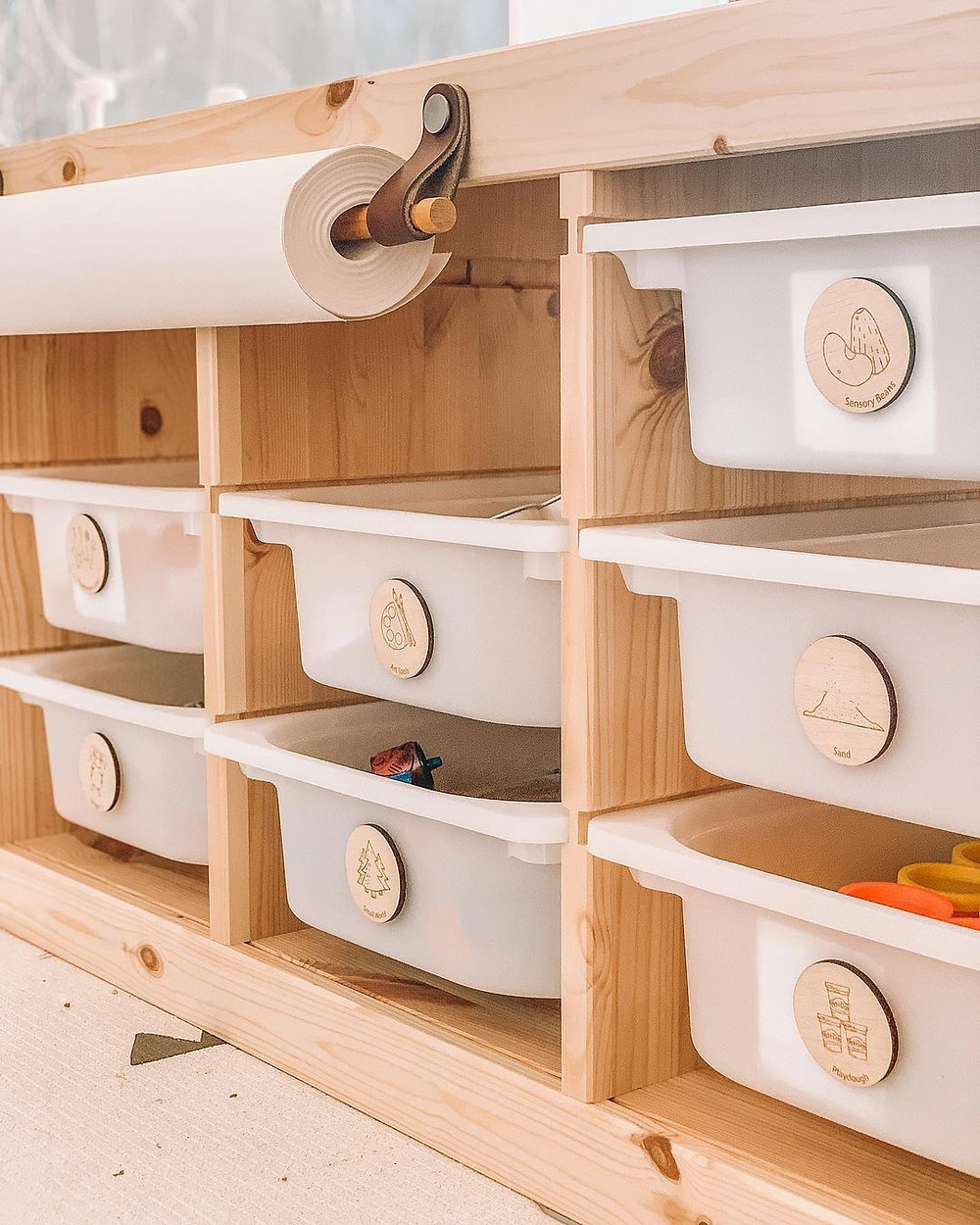 minimalist toy storage ideas