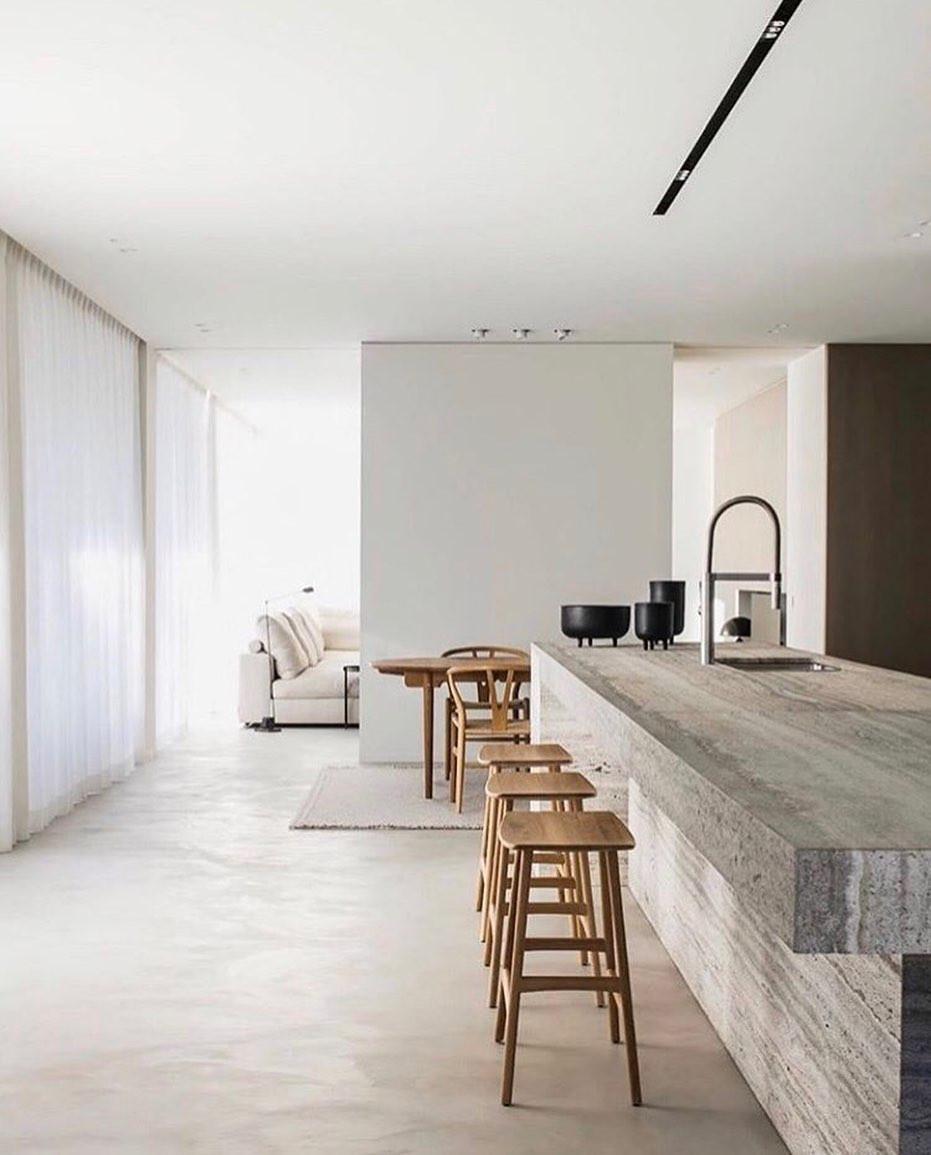 scandi minimalist kitchen