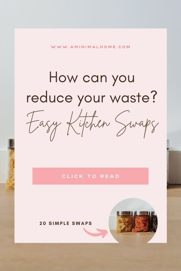 how can you reduce your kitchen waste