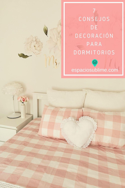 7 consejos de decoracion para dormitorios