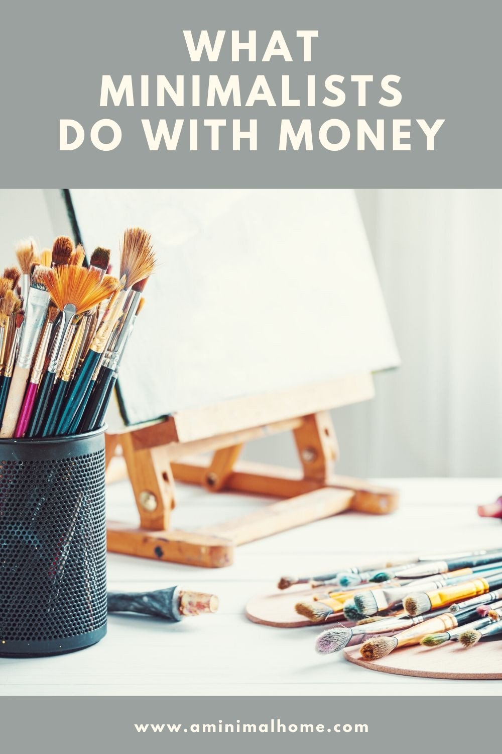 what minimalists do with money