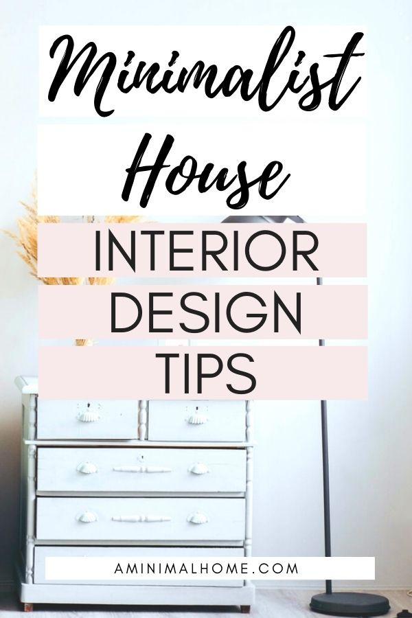 minimalist house interior design tips