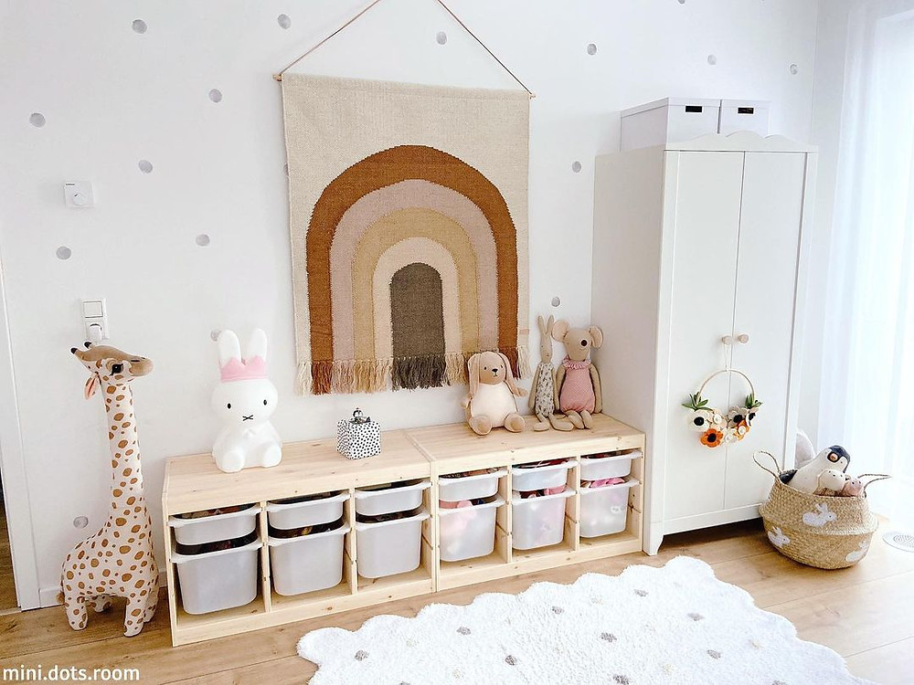 cozy minimalist playroom decor ideas