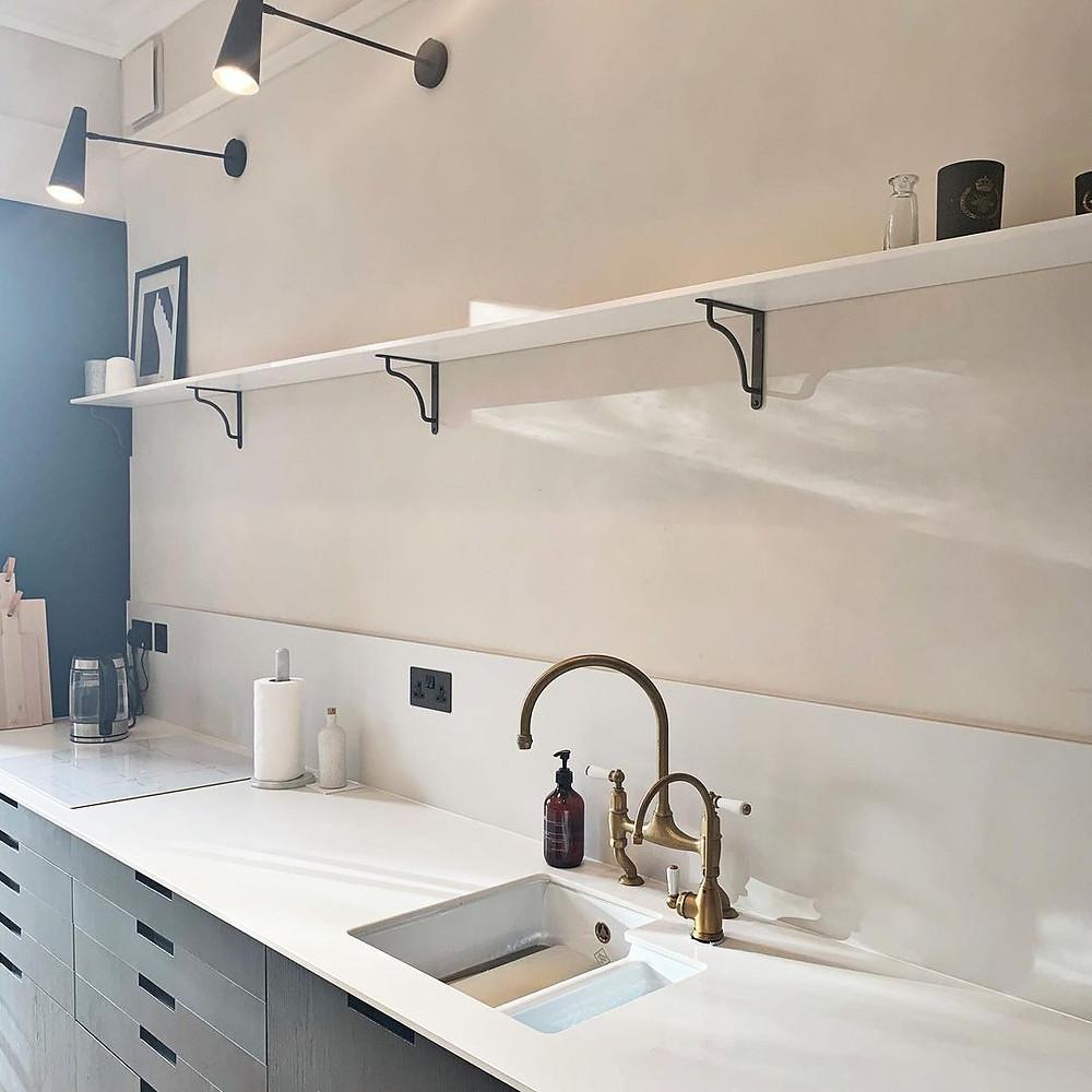 beautiful minimalist kitchen