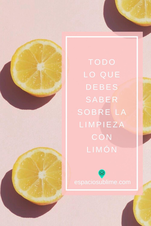 consejos sobre limpieza con limon