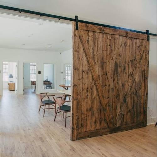 puerta farmhouse para casa y oficina