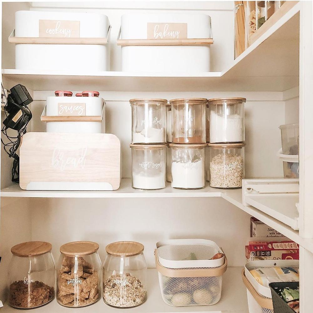 small minimalist pantry design