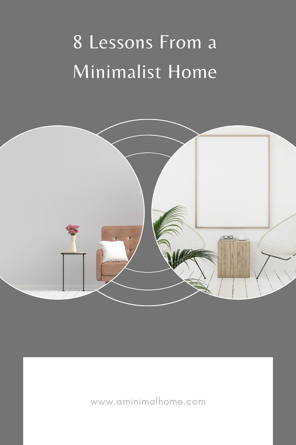 8 lessons from a minimalist home