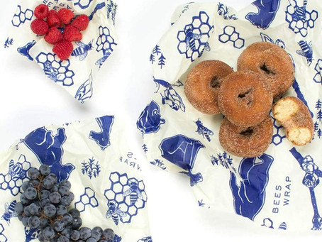 Beeswax wrap a zero waste alternative to store food