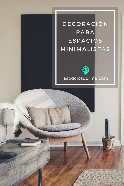 decoracion para espacios minimalistas