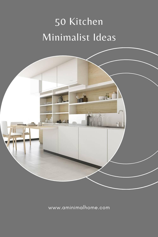 50 minimalist kitchen ideas