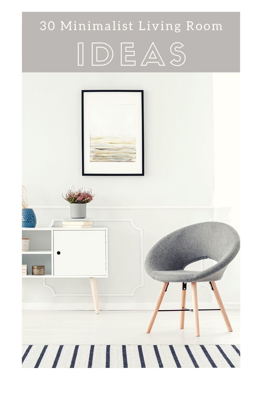 30 minimalist living room ideas