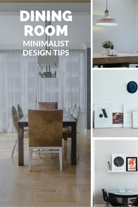 dining room minimalist design tips
