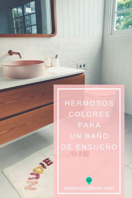 mejores y peores colores para baños