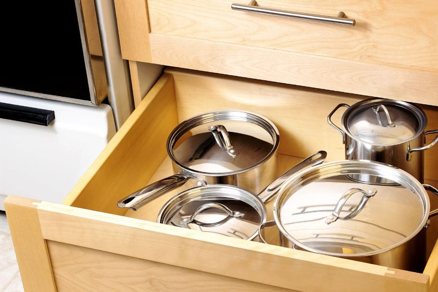 kitchen drawers for pots