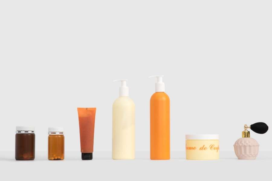 skincare and beauty products