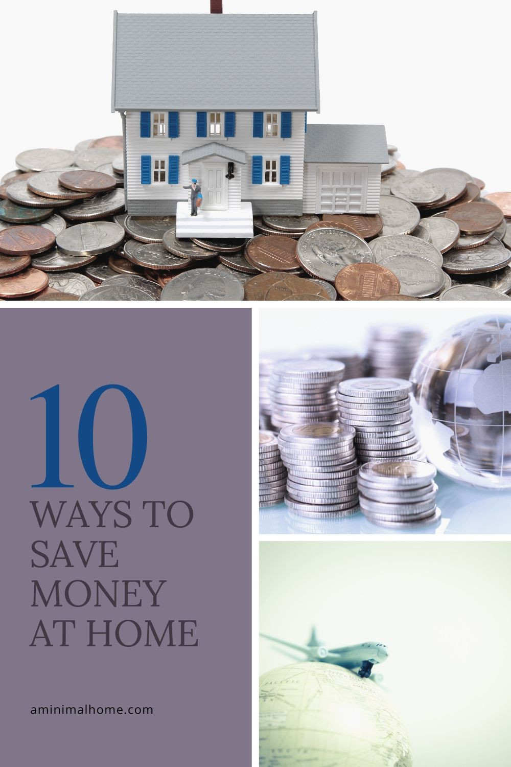 ten ways to save money at home
