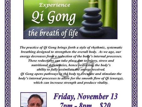 Qigong, the breath of life